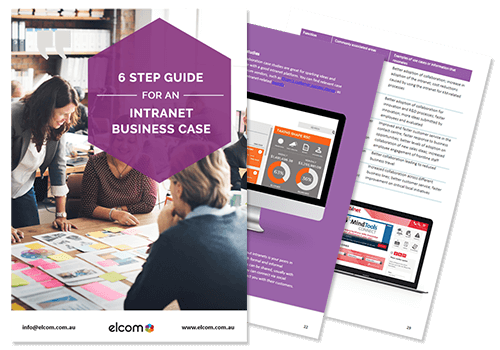 6 Step Guide For a Social Intranet Business Case Preview