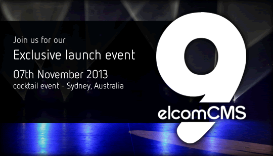 elcomCMS 9 Invitation Banner