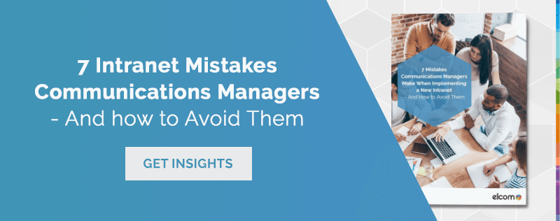 7 Intranet Mistakes Comms Managers Make - Blog Banner Image