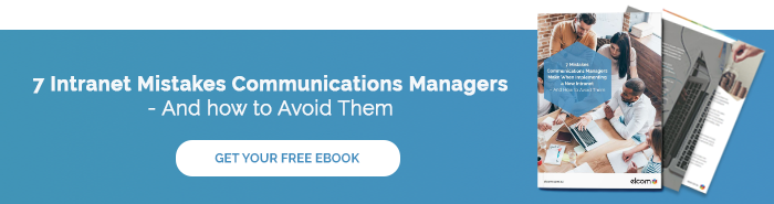 7 Intranet Mistakes Comms Managers Make - Blog Banner Small Image