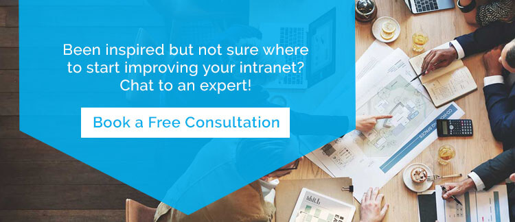 Chat to an Intranet Consultant for Advice