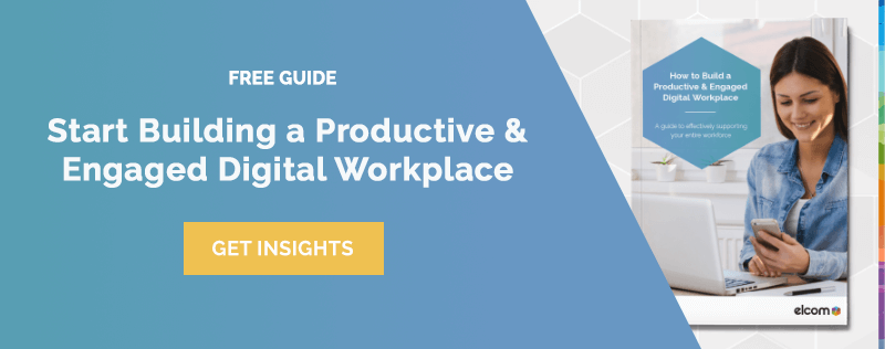 Build an Engaged Digital Workplace Guide - Blog Banner