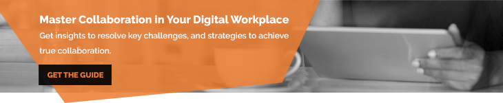 Online Collaboration in the Digital Workplace - Blog Banner - Get The Guide