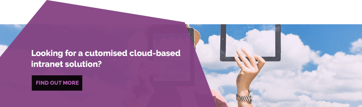 Intranet Cloud Based Solution Blog Banner