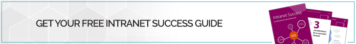 Intranet Success Guide Small Banner