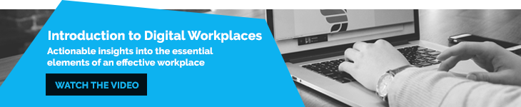 Introduction to Digital Workplaces - Understanding DW Blog