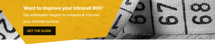 Measure and Improve Intranet Success - Blog Banner