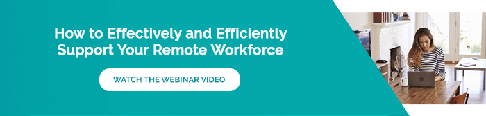 Support a Remote Workforce Webinar Blog Small Mar 2020 Image