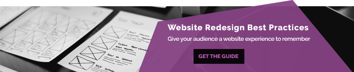 Website Redesign Best Practices - Blog Banner