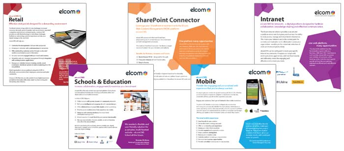 Elcom Content Management Platform Product  Industry Brochures  Elcom