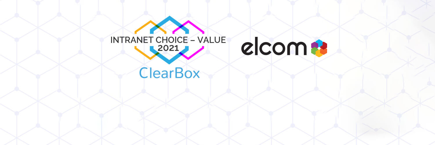 Elcom Employee Experience Platform Awarded ClearBox Consulting Intranet Choice for Value