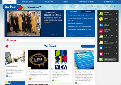 Dulux Group Intranet