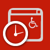 Web Accessibility Event Icon